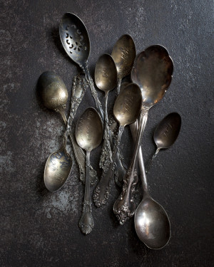 Heirloom Spoons by Veronica Olson
